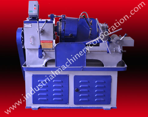 threading machine for pipe