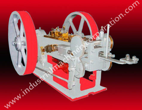 Automatic Bolt Making Machine